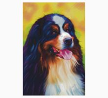 Heidi - Bernese Mountain Dog  One Piece - Short Sleeve