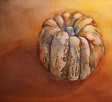 Pumpkin Before Soup  'Still Life' © Patricia Vannucci 2008 by PERUGINA