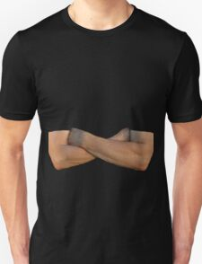 Folded Arms Male T-Shirt