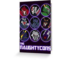 The Naughtycons Greeting Card