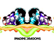 Imagine Dragons Mirror by Jack Rinderknecht