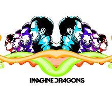 Imagine Dragons Mirror by Jack Rinderknecht