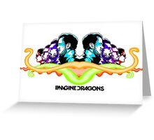 Imagine Dragons Mirror Greeting Card