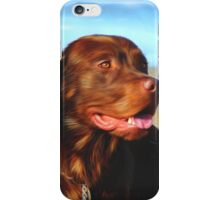 Bosco at the Beach iPhone Case/Skin