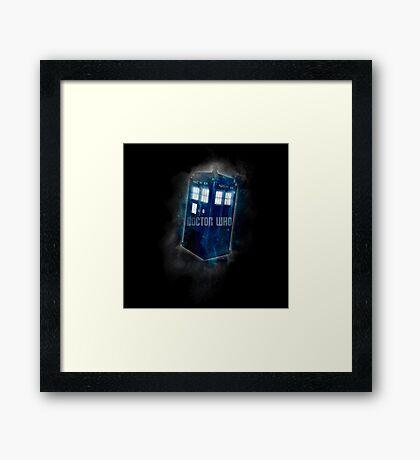 Doctor Who - DARK COLORS - Framed Print