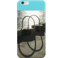 Solar Hoops @ Walsh Bay, Sydney, Australia 2006 iPhone Case/Skin