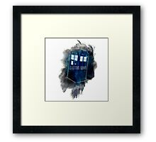 Doctor Who - LIGHT COLORS - Framed Print
