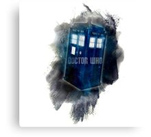 Doctor Who - LIGHT COLORS - Canvas Print