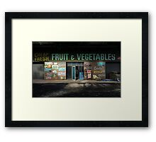 fruit and vegetables, country Australia Framed Print