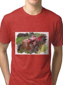 Feeling tired (T shirt version) Tri-blend T-Shirt