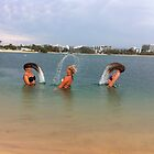 good timing! beach in Australia by Jeannine de Wet