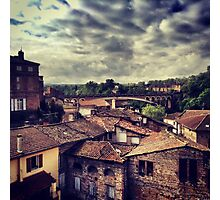 A walk in Gaillac..France Photographic Print