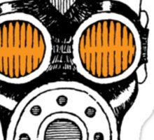 Gasmask Sticker