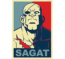 Sagat, Street Fighter Photographic Print