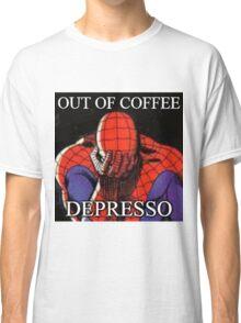 Depressed Spiderman Classic T-Shirt