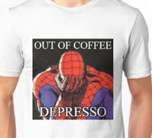 Depressed Spiderman Unisex T-Shirt