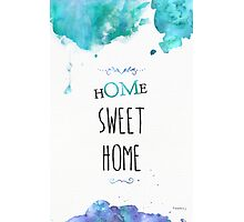 OM Sweet Home Photographic Print