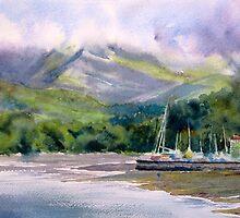Hidden Peaks by Ruth S Harris
