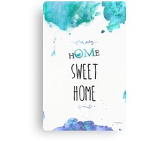 HOME SWEET HOME (OM) Bird edition Canvas Print