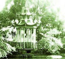 Pagoda (Durazzo Pallavicini manor, Genova Pegli, Italy) by Alessia Ghisi Migliari