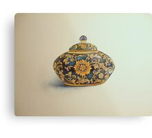 The Imperials 'Miniature' Oval Urn No 1 © Patricia Vannucci 2008  Metal Print