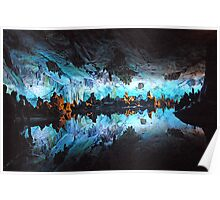 Reed flute cave Poster
