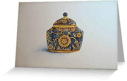 The Imperials 'Miniature' Hexagon Urn No 2 © Patricia Vannucci 2008  by PERUGINA