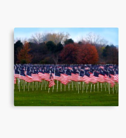 For the Soldiers Canvas Print