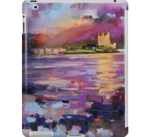 Evening Light at Eilean Donan Castle iPad Case/Skin