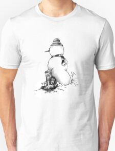 Snow Man is My Friend T-Shirt T-Shirt