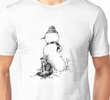 Snow Man is My Friend T-Shirt Unisex T-Shirt