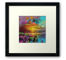 Saturate Framed Print