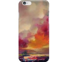 Magenta Crescendo iPhone Case/Skin