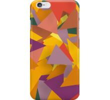 Colourful Triangles iPhone Case/Skin