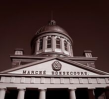 Marche Bonsecours by Rina  Kupfer