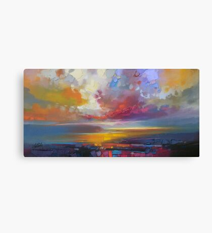 Uig Clouds Canvas Print