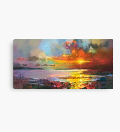 Legato Shore Canvas Print