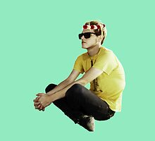 Mikey Way - Flower Crown by Quinn Baker