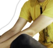 Mikey Way - Flower Crown Sticker