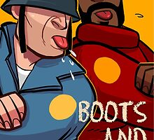 Team Fortress 2 / Boots n Bombs by essor0706