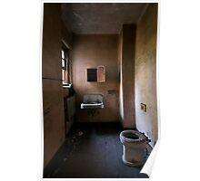 asylum bathroom Poster