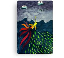 The Aventure of Mr.Banana Canvas Print