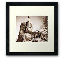 Ormskirk parish church Framed Print