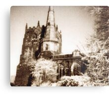 Ormskirk parish church Metal Print
