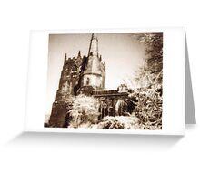 Ormskirk parish church Greeting Card