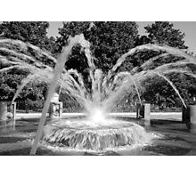 Waterfront Fountain #2, Charleston, SC Photographic Print