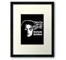 Black Sunday Framed Print