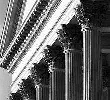 Customs House Columns No. 2 by Benjamin Padgett