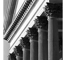 Customs House Columns No. 2 Photographic Print