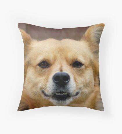 I M WATCHING YOU :) Throw Pillow
